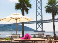 明石海峡大橋を望む『ホテルセトレ神戸舞子』にて