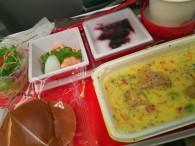 JL8792便の機内食でーす
